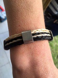 Vierkant gevlochten armbanden